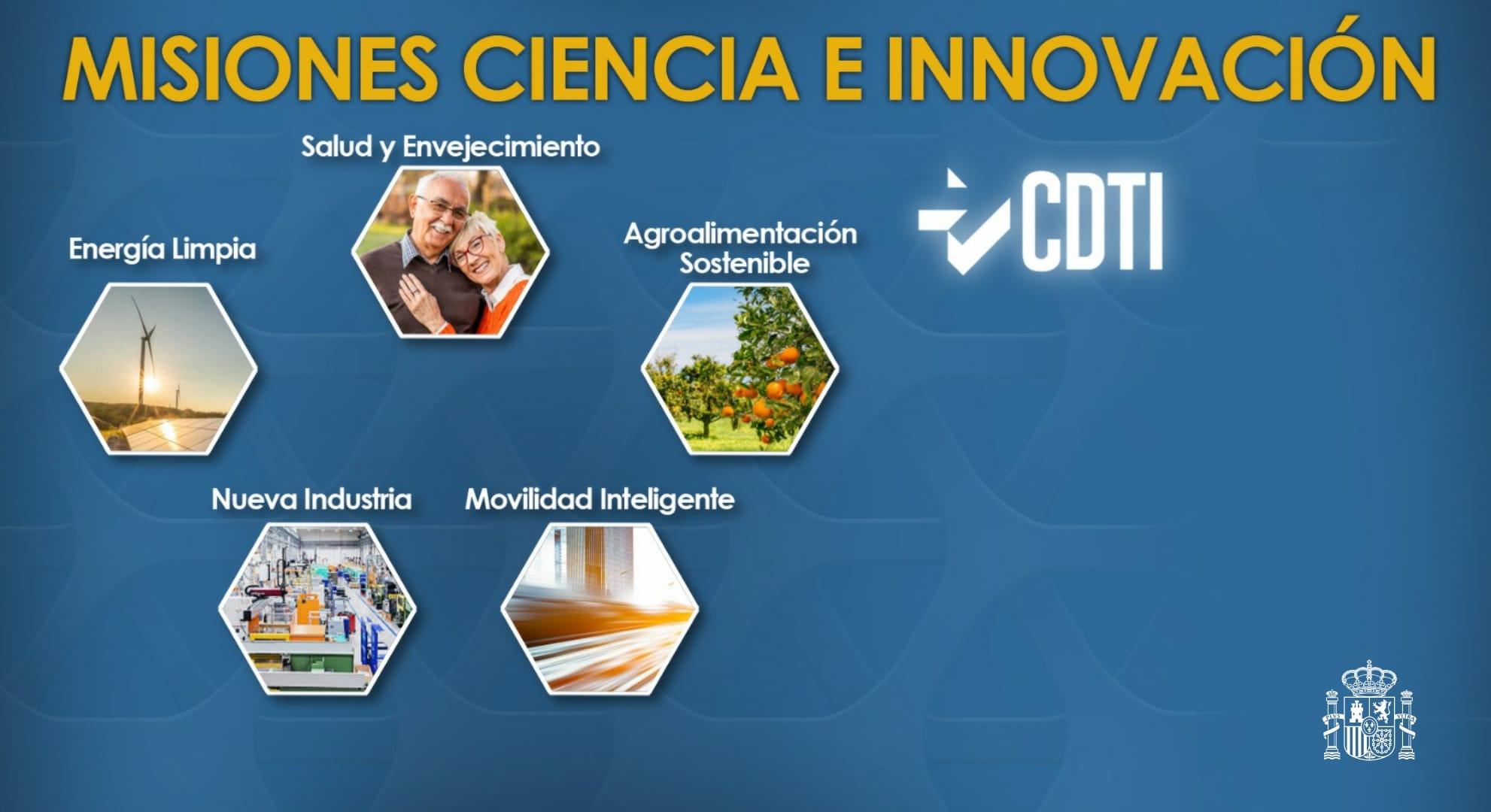 Misiones de Ciencia e Innovación